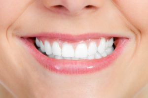 healthy smile close-up